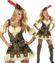 Подружка Робин Гуда,  карнавальный костюм на Хеллоуин