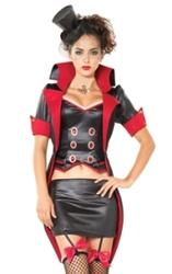 Леди Дракула,  карнавальный костюм на Хеллоуин