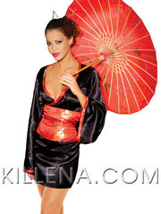 Потрясающий костюм гейши
