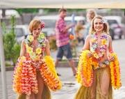 оформление гавайских вечеринок,  гавайские леи,  гавайские веночки киев