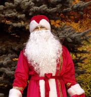 Богатый костюм Деда Мороза бархат,  стеганая подкладка НЕДОРОГО