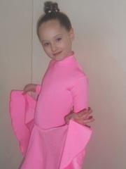 Платье  бэйзик танцевальное