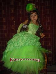 Карнавальный костюмчик капусточка,  прокат киев
