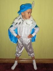 Прокат костюма Принца/Зимнего месяца на мальчика 3-5 лет