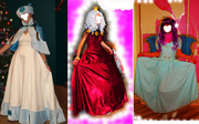 Костюмы карнавальные для аниматоров артистов Киев платье парик снегурочка фея принцеса