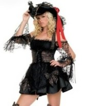 Новогодний костюм Пиратки