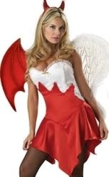 Карнавальный костюм   Ангел и Демон в одном лице